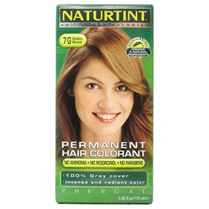 Naturtint 7G Permanent Golden Blonde Hair color 4.5 oz