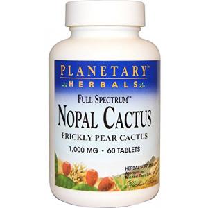 Planetary Herbals Nopal Cactus 1000MG