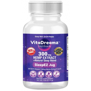 VitaDreamz 300 mg CBD Sleep Chews 300 mg