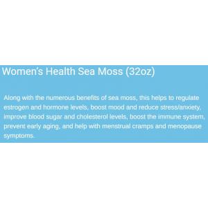 Women's Health Sea Moss Gel 32 oz Ingredients