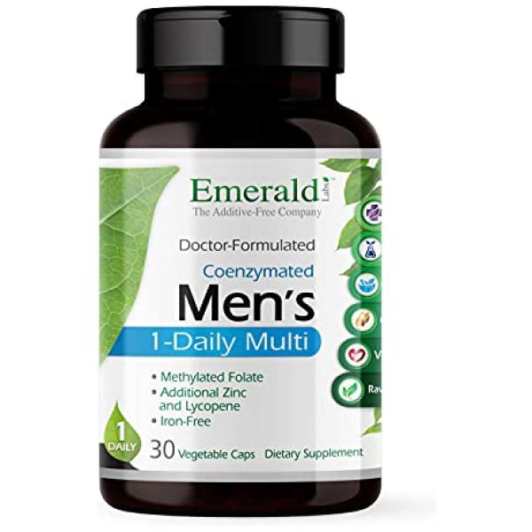 Emerald Labs Men's 1-Daily Multi 30 Veg Caps