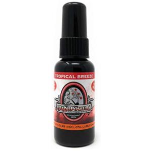 BluntPower Deodorizer & Odor Eliminator Spray - Tropical Breeze Red