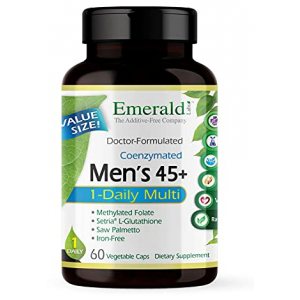 Emerald Labs Men's 45+ 1-Daily Multi 60 Vegetable Capsules