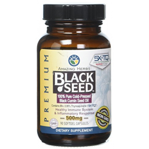 Amazing Herbs Oil Black Seed Premium 500 mg