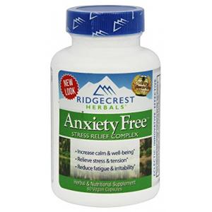 Ridgecrest Herbals Anxiety Free 60 CAP