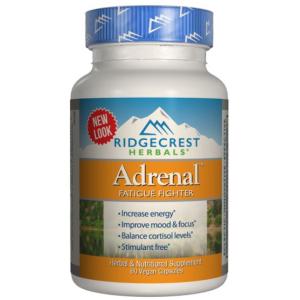 Ridgecrest Herbals Adrenal Fatigue Fighter 60 veg caps
