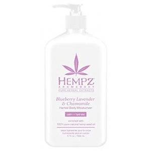 Hempz Blueberry Lavender & Chamomile Herbal Body Moisturizer 17 Fl Oz